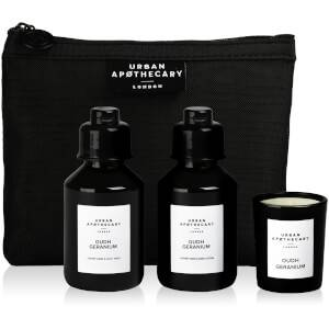 Urban Apothecary Oudh Geranium Luxury Bath and Fragrance Gift Set (3 Pieces)