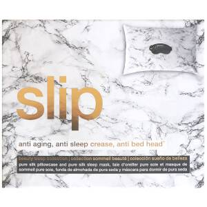 Slip Beauty Sleep Collection Gift Set - Marble/Charcoal (Worth $150.00)