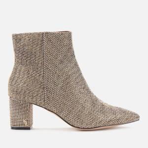 Kurt Geiger London Women's Burlington Studded Heeled Ankle Boots - Beige