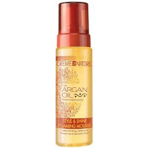 Crème of Nature Argan Oil Style & Shine Foaming Mousse 207ml