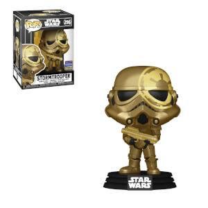Star Wars Artist Series Golden Stormtrooper Wonderous Con EXC Funko Pop! Vinyl
