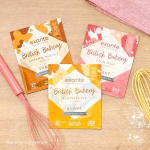 British Bakery Shake Mixed Bundle