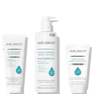 AMELIORATE Smooth Skin Supersize Bundle (Fragrance Free) (New Packaging)