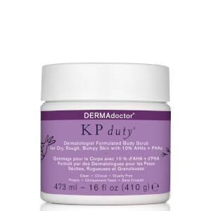 DERMAdoctor KP Duty Exfoliant pour le corps formulé par des dermatologues - 16 oz