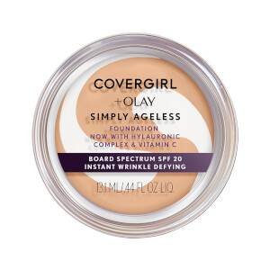 COVERGIRL Simply Ageless Instant Wrinkle Defying Foundation 7 oz (Various Shades)