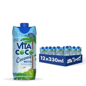 Eau de coco pure, 330ml (12 unités)