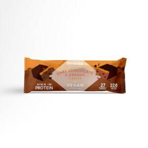 Vegan Meal Replacement Box of 7 Dark Chocolate & Orange Layered Bar