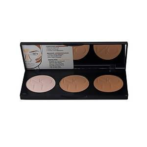 Note Cosmetics Perfecting Contouring Powder Palette - 01 Light to Medium