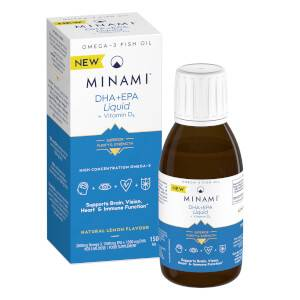 DHA+EPA Liquid + Vitamin D3 - 150ml