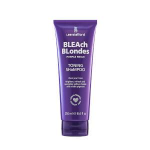 Lee Stafford Bleach Blondes Purple Reign Toning Shampoo 8.45 fl. oz