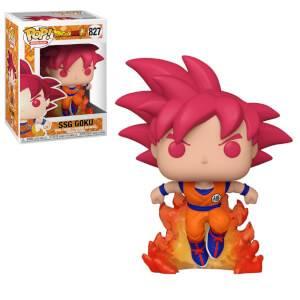 Dragonball Super Super Saiyan God Goku Convention EXC Pop! Vinyl