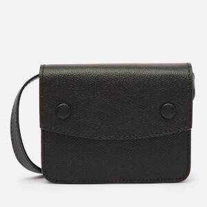 Maison Margiela Men's Grainy Embossed Belt Wallet - Black
