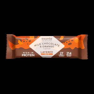 Chocolate Orange Layered Meal Replacement Bar