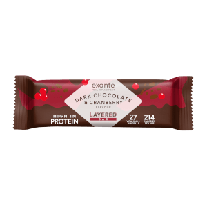 Dark Chocolate & Cranberry Layered Meal Replacement Bars - Box of 7
