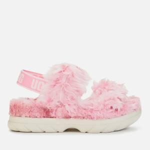 UGG Women's Fluff Sugar Sustainable Sandals - Pink