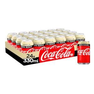 Coca-Cola Zero Sugar Vanilla 24 x 330ml