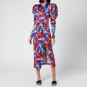 ROTATE Birger Christensen Women's Theresa Dress - Paint