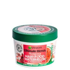 Garnier Ultimate Blends Plumping Hair Food Watermelon 3-in-1 Mask Treatment 390ml