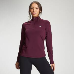MP Women's Essentials Training Slim Fit 1/4 Zip - Port