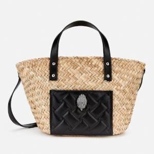 Kurt Geiger London Women's Kensington Small Basket Bag - Black