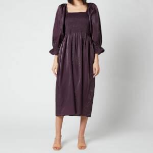 Baum Und Pferdgarten Women's Adanna Dress - Plum Perfect