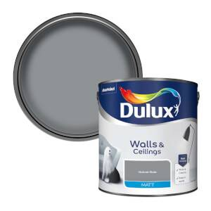 Dulux Matt Natural Slate Matt Emulsion Paint - 2.5L