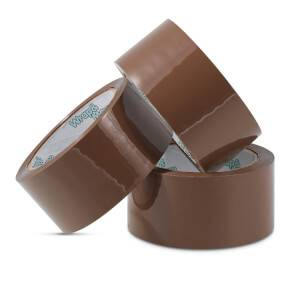 Brown Packaging Tape 3 Pack 48mm x 50m