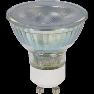 TCP LED Glass GU10 50W Cool Light Bulb - 4 pack