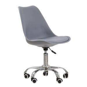 Orsen Swivel Office Chair - Grey