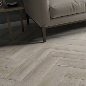 Bergen Grey Floor Tile - 600 x 150mm