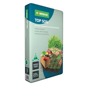 Homebase Top Soil 25L
