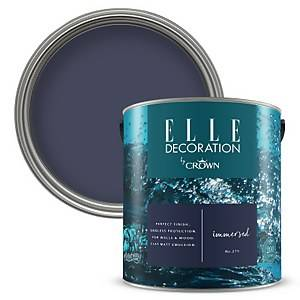 ELLE Decoration by Crown Flat Matt Paint - Immersed 2.5L