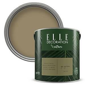 ELLE Decoration by Crown Flat Matt Paint - Go Green 2.5L