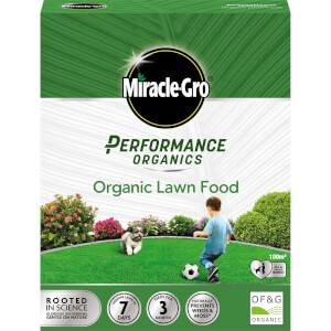 Miracle-Gro Performance Organics Lawn Food - 100m2