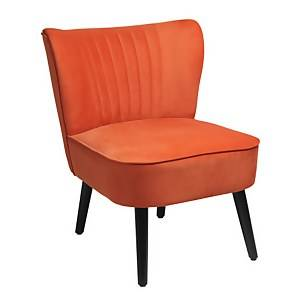 Occasional Chair - Burned Orange