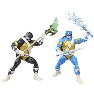 Hasbro Power Rangers X Teenage Mutant Ninja Turtles Morphed Donatello and Morphed Leonardo Action Figures 2 Pack