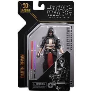 Figurine de Collection Darth Revan - Hasbro Star Wars The Black Series Archive