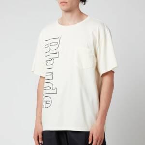 Rhude Men's Logo Pocket T-Shirt - White