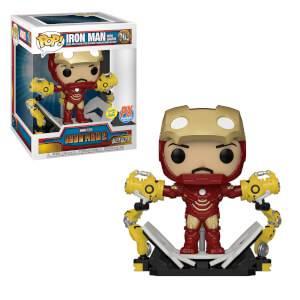 PX Deluxe Previews Marvel Iron Man Mark IV con Gantry EXC Figura Funko Pop! Vinyl