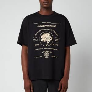 Holzweiler Men's Fleur T-Shirt - Black Greenhouse