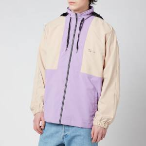 Drôle de Monsieur Men's NFPM Windbreaker Jacket - Purple