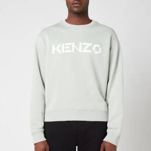 KENZO Men's Logo Sweatshirt - Sage Green
