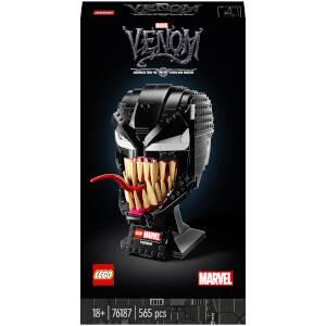 LEGO Marvel Spider-Man Venom Mask Adult Set (76187)