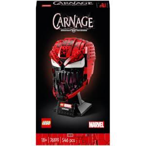 LEGO Marvel Spider-Man Carnage Building Set for Adults (76199)