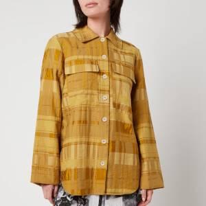 Baum Und Pferdgarten Women's Buyu Shirt - Golden Palm