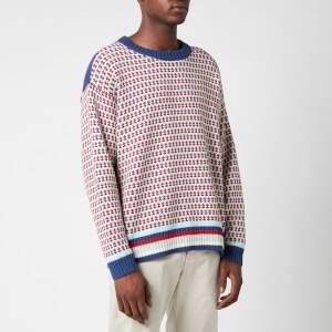 YMC Men's Dawg Stripe Jumper - Multi