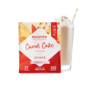 Meal Replacement Box of 7 Carrot Cake Shake