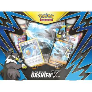 Pokemon TCG: Single/Rapid Strike Urshifu V Box (Assortment)