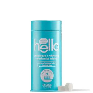 hello Antiplaque and Whitening Toothpaste Tablets 2.9 oz
