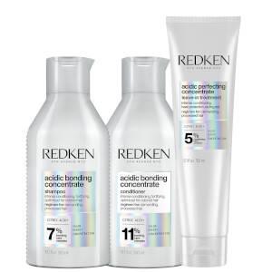 Redken Acidic Bonding Concentrate Leave-in Treatment Set